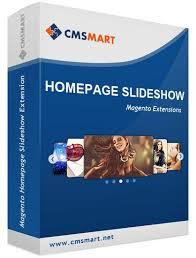 Magento Homepage slideshow exxtension CMSmart