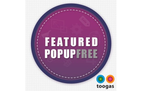 Toogas Featured Popup Free