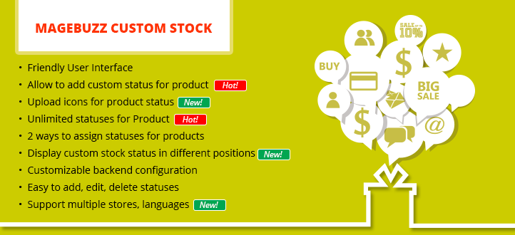 Custom-Stock-magento-extension