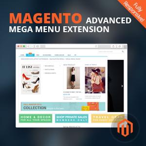 Mega menu magento