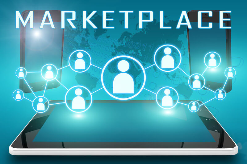 How does virtual marketplace reshape the world of retailers