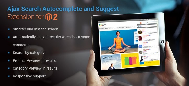 Ajax Search Suggest and Auto Complete for Magento 2
