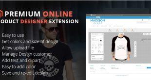 Magento Product Online Designer Extension