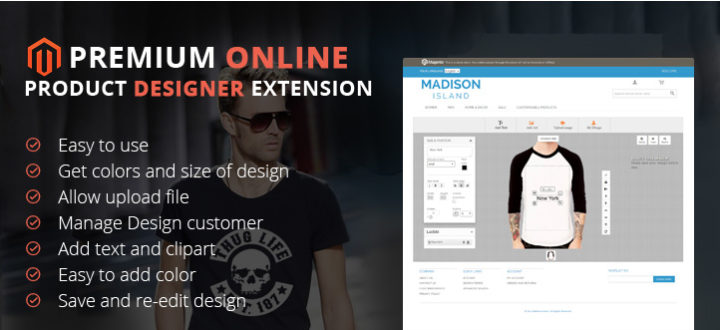 All about Magento Product Online Designer Extension