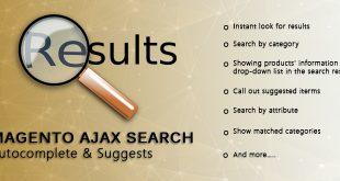 Magento ajax search autocomplete