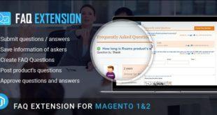 Magento FAQ extension