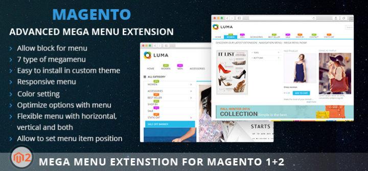 Magento 2 mega menu: new powerful Magento 2 extension