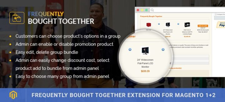 Magento Frequently Bought Together extension